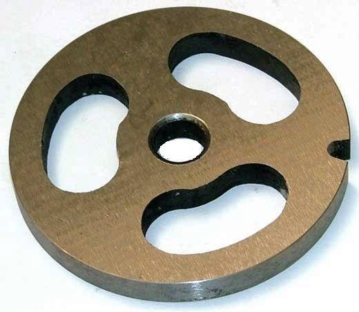 Zelmer sítko č.8 - 3 otvory k mlýnku na maso typ 886.84, 986.8, 887.8,, 987.8, MM 1000, 1200 ( RE-9108 ) AJS