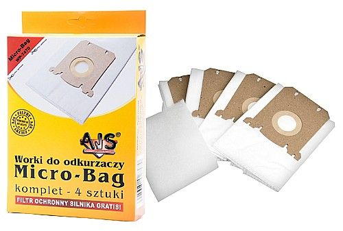AJS WP-7470 - 4 ks, filtr sáčky S-BAG k vysavačům AEG-Electrolux-Philips FC8022, E201B,