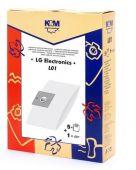K&M L01 - 5 ks sáčky k vysavačům LG TB 4 + filtr