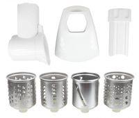 Sada přídavných struhadel ( ZMMA086W/986.7000 ) k mlýnkům na maso Zelmer - AJS-FR-0747