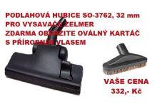 Podlahová hubice+ oválný vysávací kartáč k vysavačům Zelmer - AJS SO-3762+SD-W3
