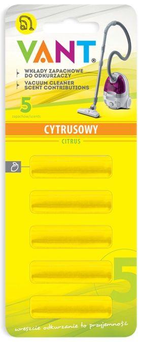 Vůně do vysavače Citron - SEDAN VV8- 5 ks